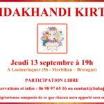 Kirtan de Septembre en Bretagne