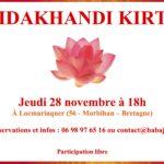 Mantras / kirtan le 28 novembre en Bretagne