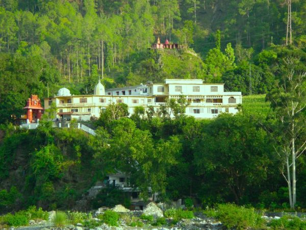 La recherche d'un ashram